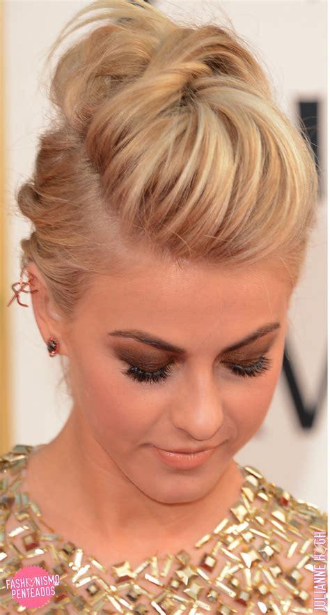 10 ideias de penteados: Julianne Hough   Fashionismo