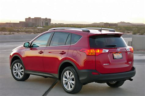 red toyota toyota rav4 red 4