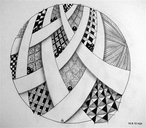 zentangle pattern circle zentangle pattern love the circle shape and negative