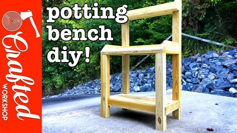how to build a simple potting bench diy garden potting bench how to build simple woodworking