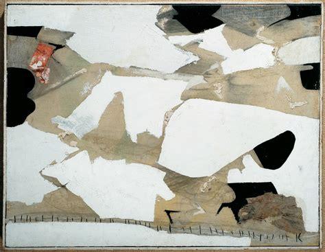 banca monte dei paschi di siena firenze alberto burri senza titolo 1951 collezione banca monte