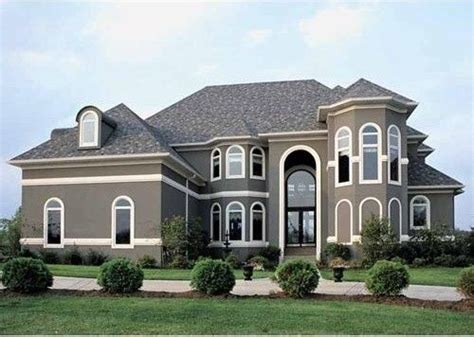 exterior paint color new house paint color grey stucco with white trim then a standout