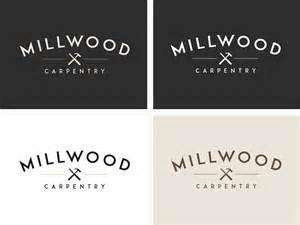 new brand identity for millwood carpentry logo rocket