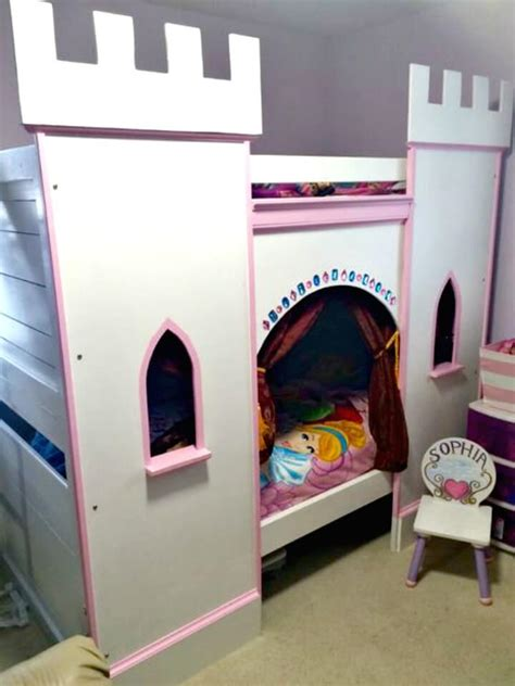 budget diy bunk bed plans  upgrade  kids room