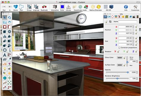 online kitchen design program virtual decorator home design software free download