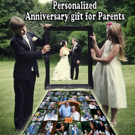 Wedding Anniversary Gift For Parents by Anniversary Gifts 20th Wedding Anniversary Photo Gift