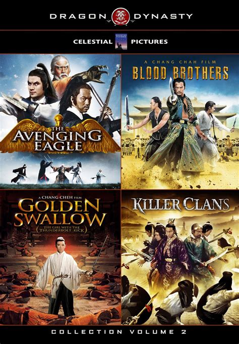 The Avenging Eagle Shaw Brothers Dvd Kaufen Filmundo Dynasty S Ultimate 4 Pack Dvd Vol 2 Avenging Eagle Blood Brothers Golden And