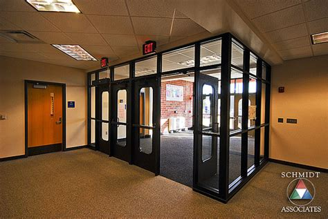entry vestibule entry security vestibule schmidt associates granville