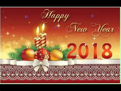 happy  year  wishes greeting card youtube