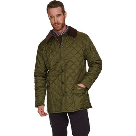 Barbour Quilted Liddesdale Jacket by Mens Liddesdale Quilted Barbour Jacket