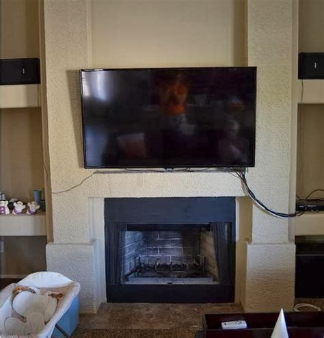 Fireplace With No Mantle by Hesselblogger Fireplace Mantel