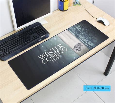 Mousepad Gaming Lg of thrones mouse pad 80x30cm pad to mouse notbook