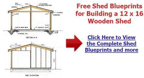 the shedplan complete 10 x 8 pent shed plans tractor