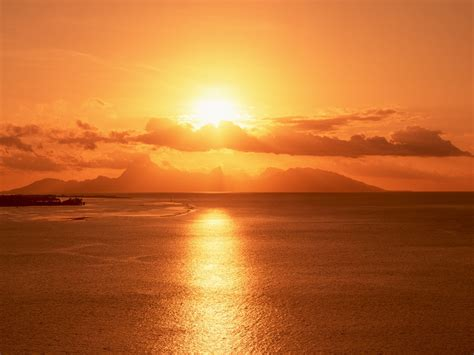 Landscape Pictures Of Sunset Nature Landscape Sunset Wallpaper