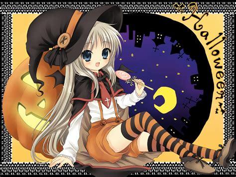 anime girl halloween wallpaper anime halloween girl wallpaper hd wallpaper area hd