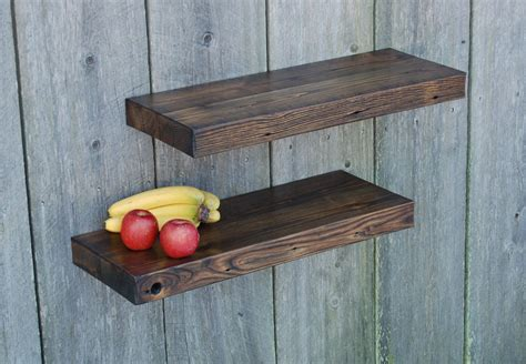 barn wood floating shelves 29x11 kitchen bath