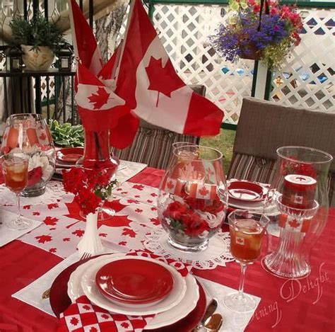 day table decorations 1000 images about canada day ideas on canada read more and happy