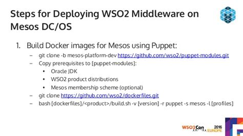 docker mesos tutorial deploying wso2 middleware on containers