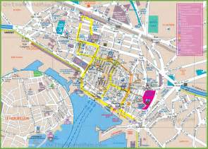 Toulon France Map by Toulon Tourist Map