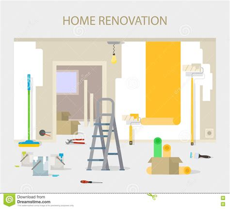 Office Wallpaper Interior Design by Room Repair In Home Interior Renovation In Apartment And