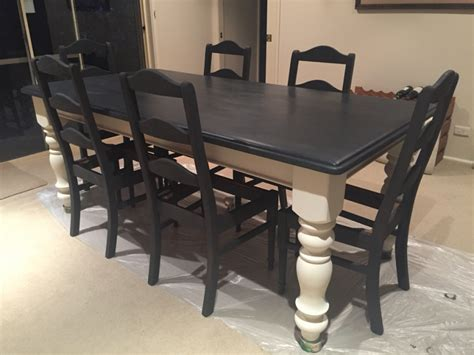 Paint Dining Table Paint Dining Room Table Turn Almost Any Style Of Dining Table Into A Country Farm Style Dining