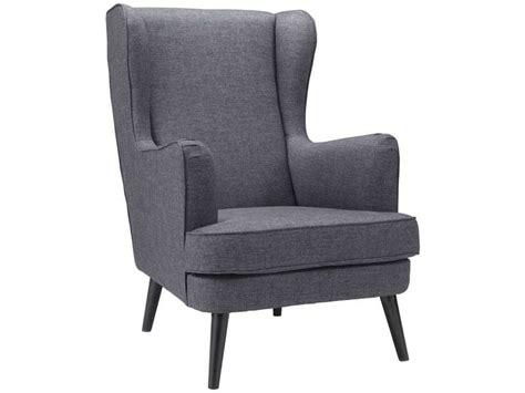conforama fauteuil fauteuil en tissu will coloris anthracite vente de tous les fauteuils conforama