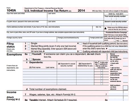 www irs govov form 1040a tax time 10 most common irs forms explained
