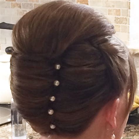 vertical cut hair 40 best images about vertical rolls french pleat on