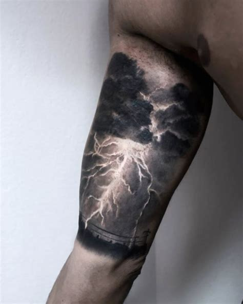 thunderstorm tattoos best 25 ideas on negative