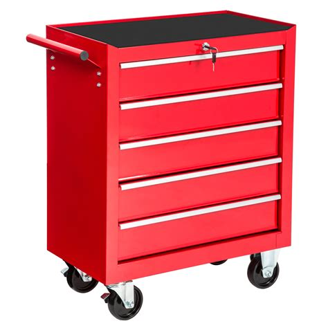 monster 4 drawer tool cart tool cabinet cart workshop wheel trolley tools tray ball
