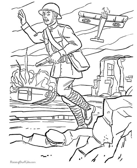 military color pages az coloring pages
