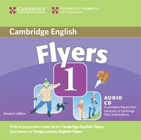 libro cambridge english flyers 1 libro cambridge young learners english tests flyers 1 audio cd examination papers from the