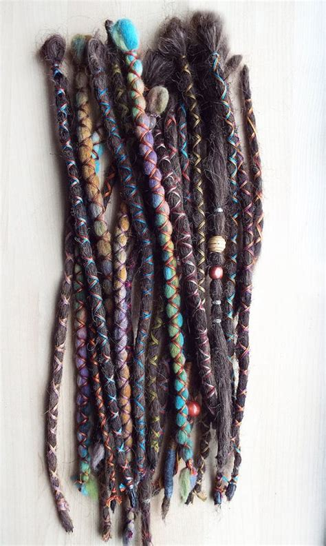 Dreadlock Wrapped Around Extensions For Sale | dread hair dreads and dreadlock extensions on pinterest