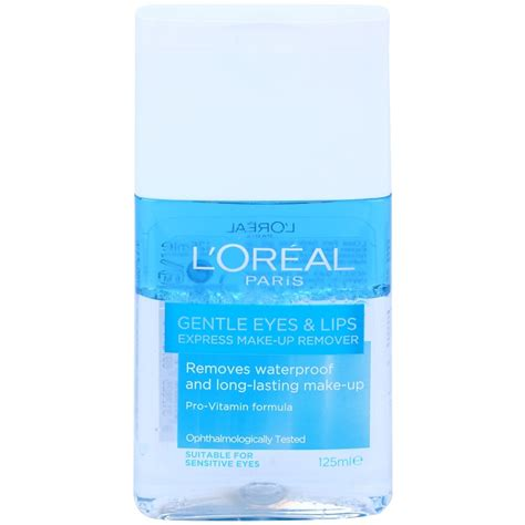 l or 233 al gentle eye and lip makeup remover for
