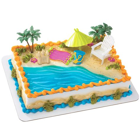 themed cake decorations celebrate summer birthdays with birthdayexpress