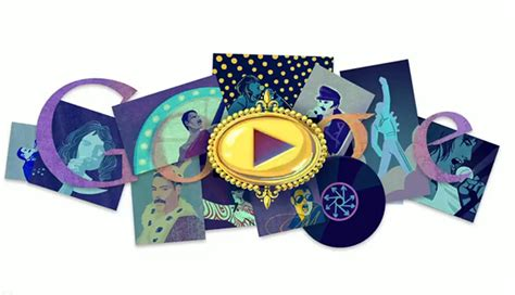 doodle do fred mercury proyect one dise 241 o web gr 225 fico e interactivo