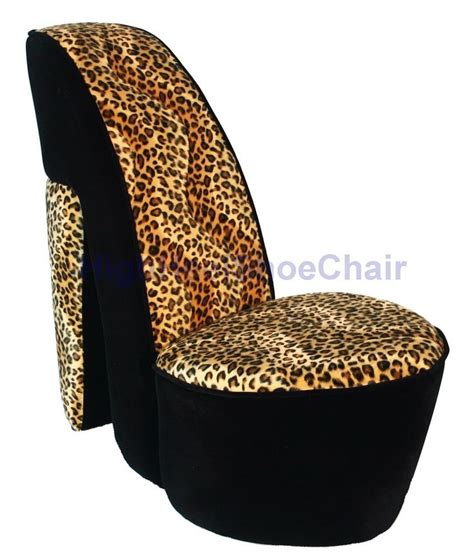 high heel furniture 24 best images about leopard high heel chair on
