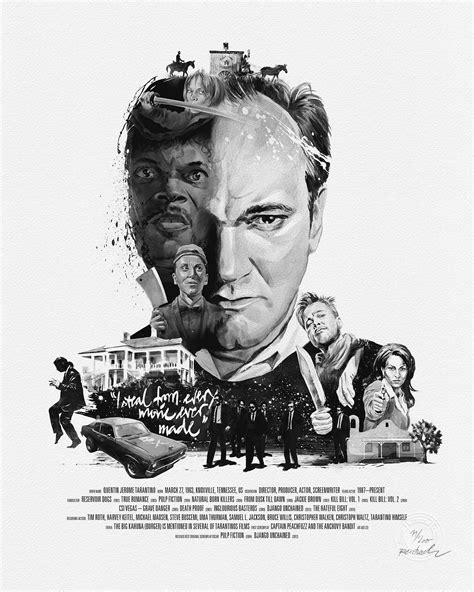 Movie Director Portrait, Quentin Tarantino – Heidemann und