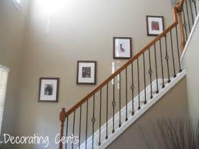 Wall Stairs Decoration by Stair Wall Decorating Ideas Home Decoration Ideas