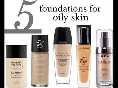 Best Foundations For Oily Skin ?? THE BEST FOUNDATIONS FOR