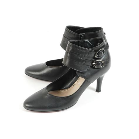 gabor shoes 2213 ankle shoe in black with