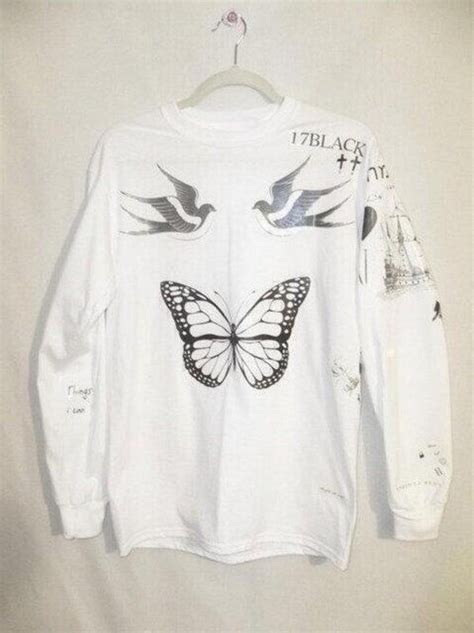 harry styles tattoo jumper topshop harry styles tattoos swallows butterfly one