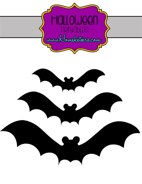 free printable halloween bat pictures halloween bats printable free