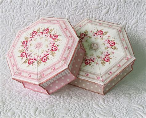 easy fabric gift box pattern