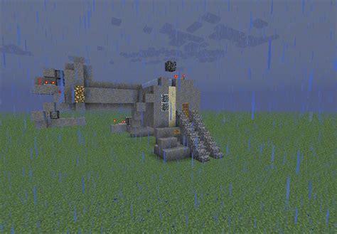 redstone sand and gravel code door minecraft project