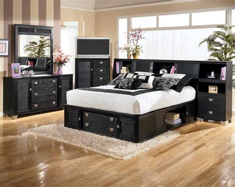 furniture bedroom furniture bedroom bed black 671