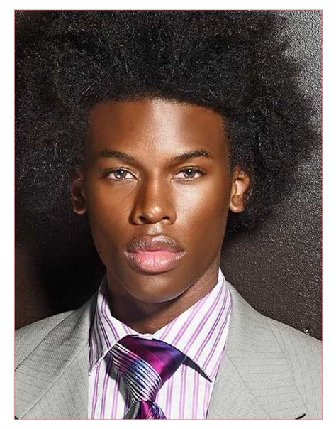 spiky afro black men afro haircut best image hd