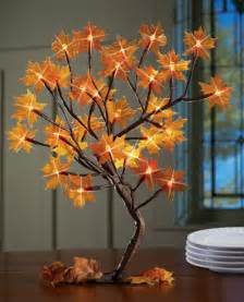 lighted tree fall decoration adorable home