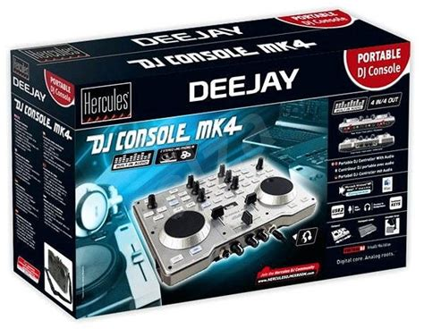 dj console mk4 software hercules dj console mk4 mixing console alzashop