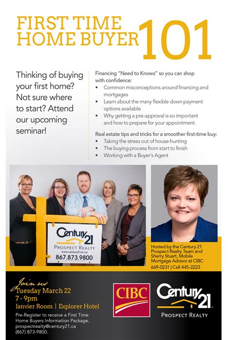 time home buyer 101 seminar